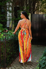 Gianni Pleated Maxi Dress - FINAL SALE