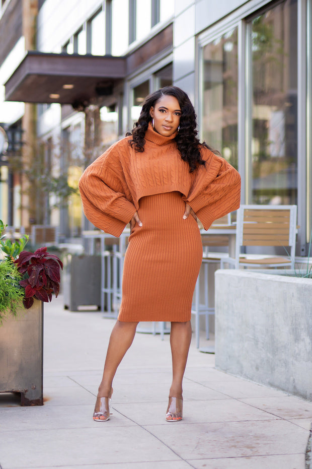 Reign Sweater Dress Set