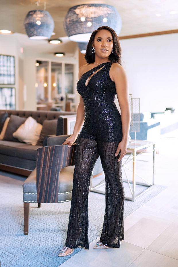 Born to Sparkle Jumpsuit