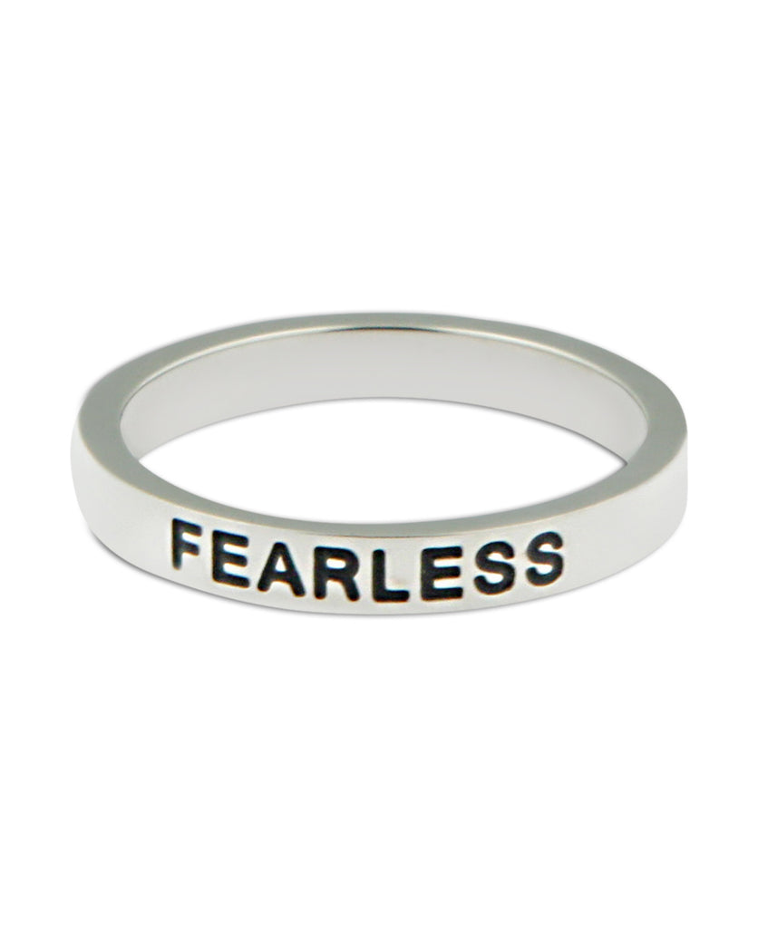 Inspirational Fearless Ring