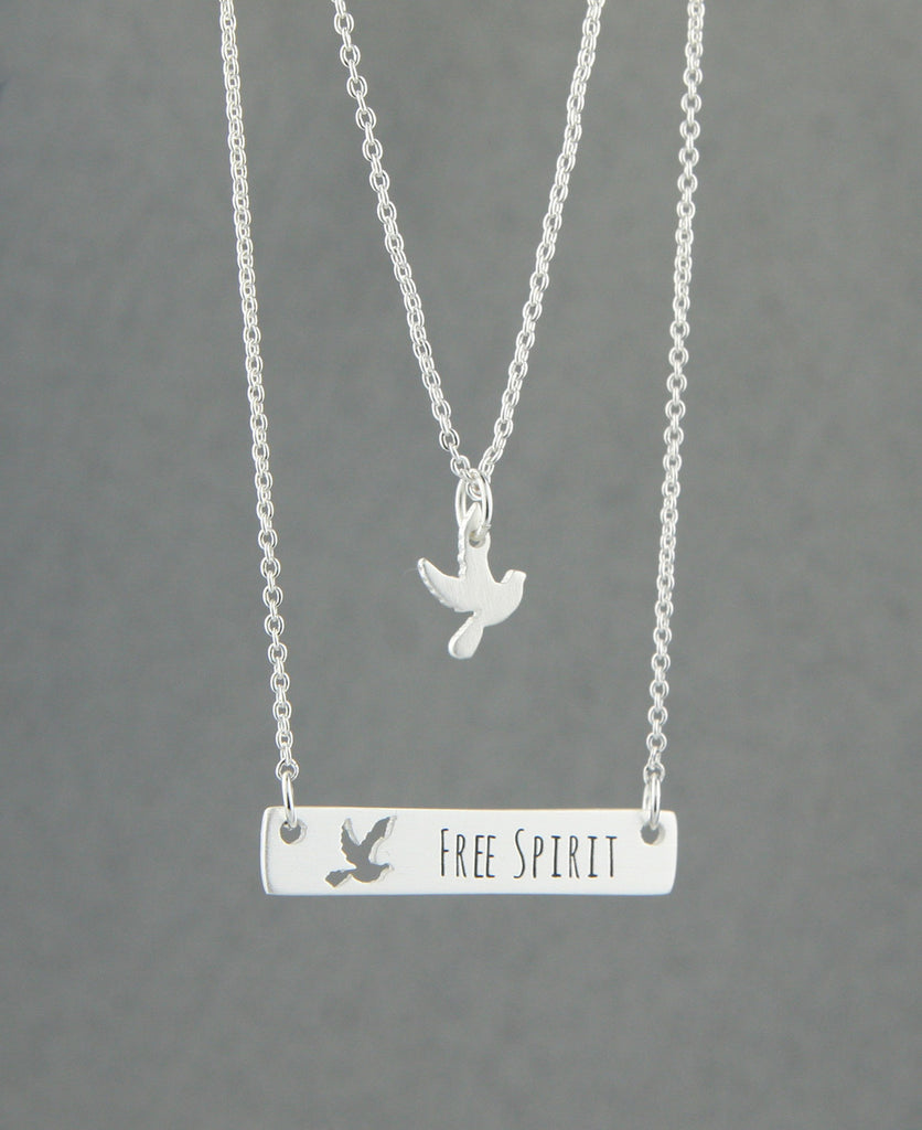 Free Spirit Bird Necklace