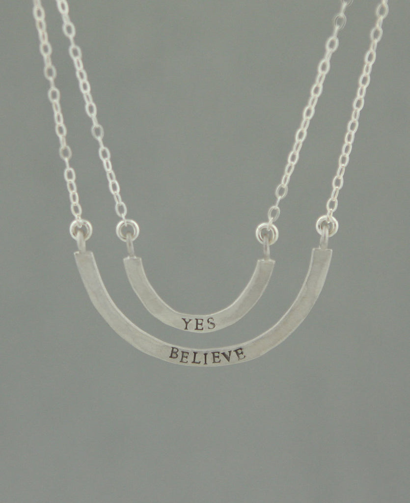 Yes Believe Necklace