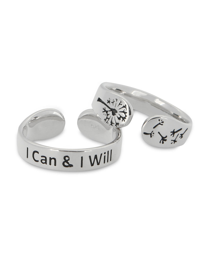 I can i will inspirational ring