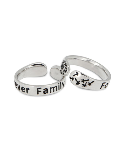 Forever Family Inspirational Ring
