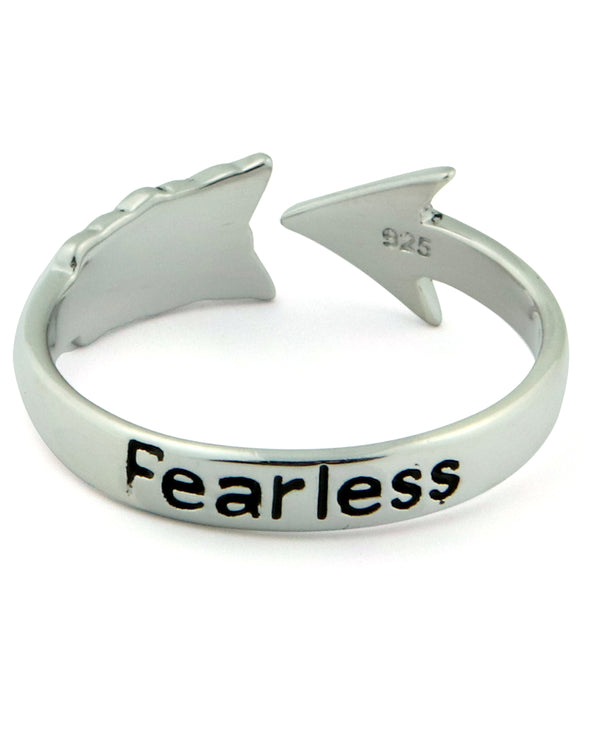 Fearless Arrow Ring