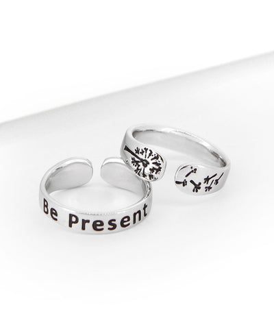 Be Present Ring