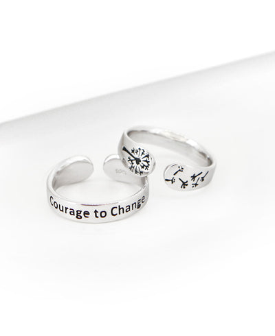 Courage to Change ring