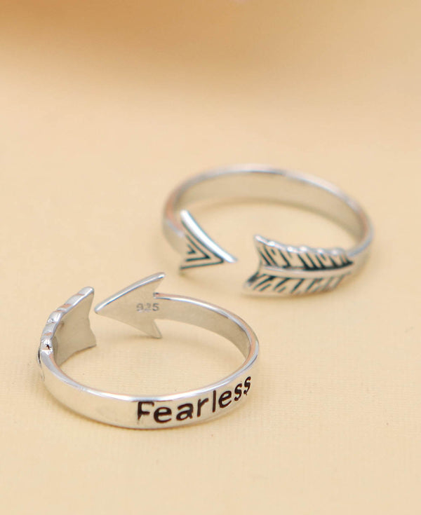 Fearless Ring Inspirational Jewelry