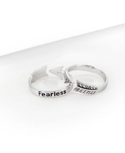 Fearless Ring Silver