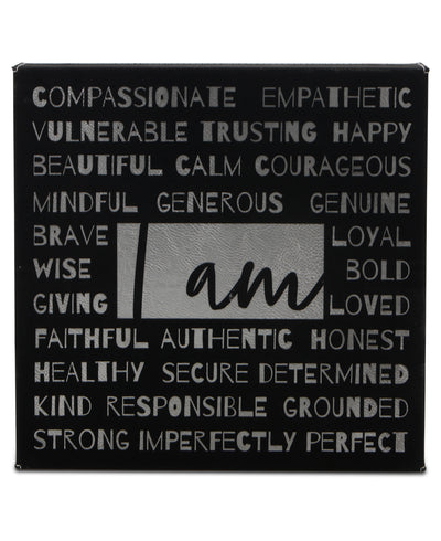 I am... Affirmation Inspirational Wall Hanging