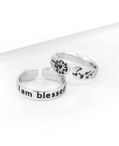 I am Blessed Ring