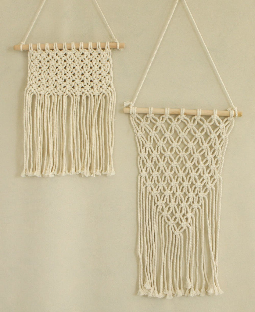 Bohemian Macrame Wall Hangings