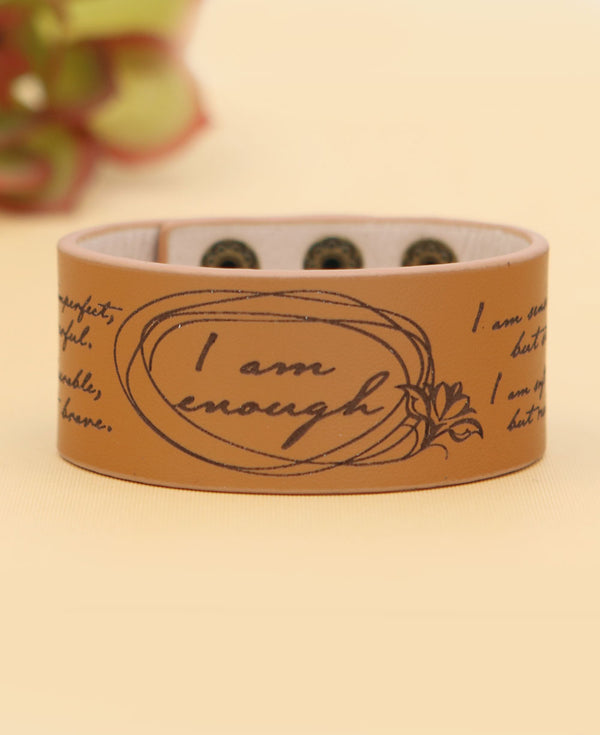 I am enough cuff bracelet