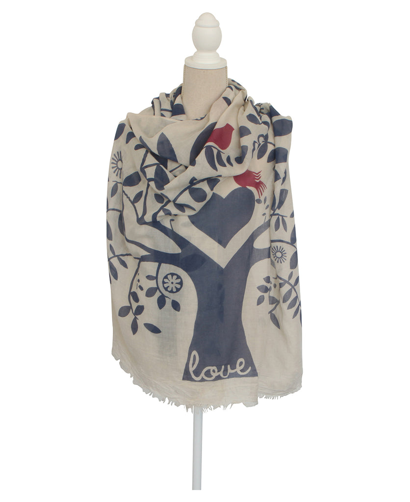 Tree of Love Scarf