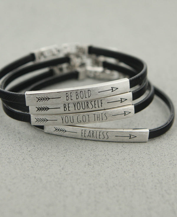 Inspirational Arrow Bracelets