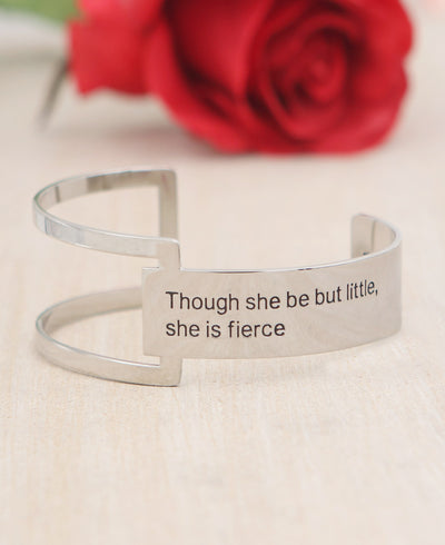 Little But Fierce Cuff Bracelet