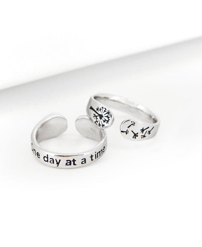 One Day At A  Time Ring