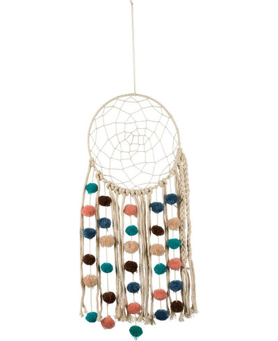 Pom Pom Dream Catcher