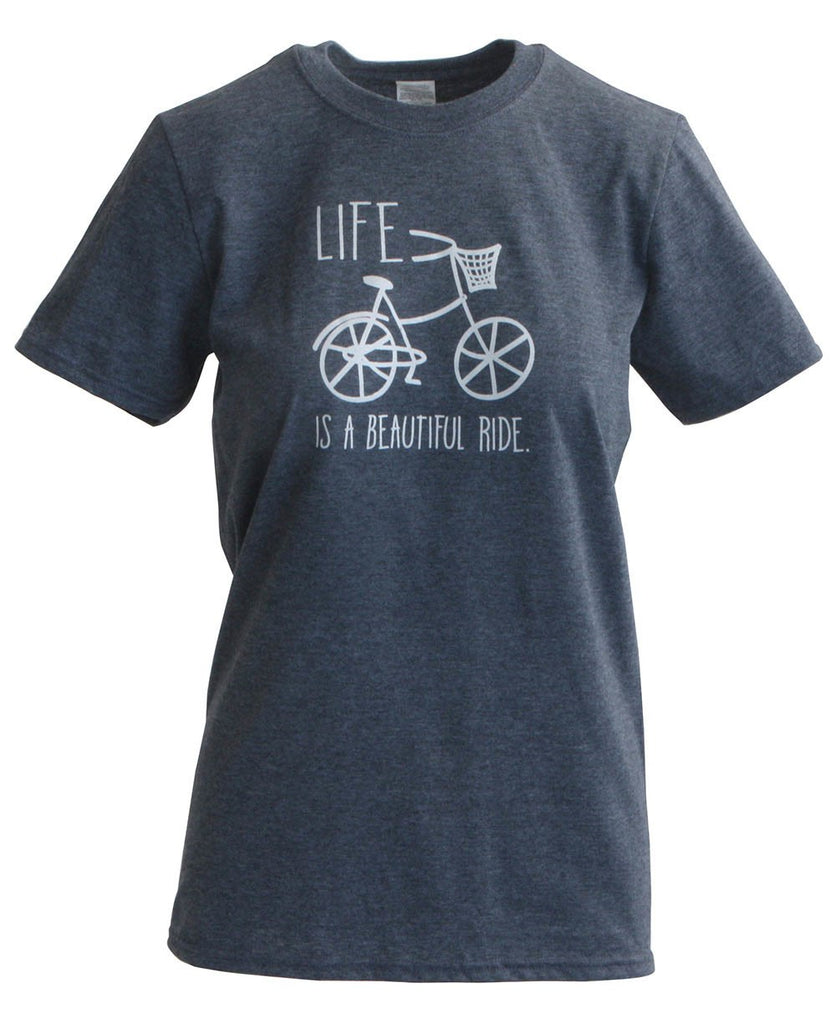 Life is a Beautiful Ride Women's Bicycle Tee