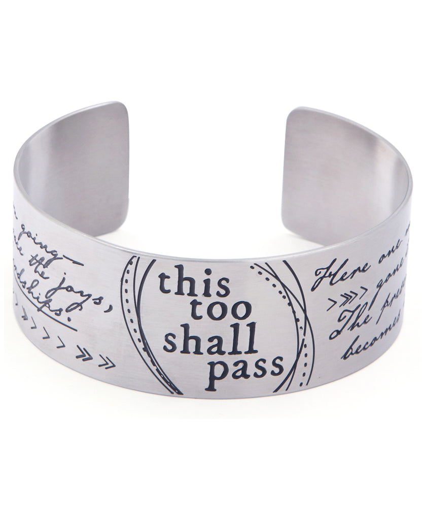 This Too Shall Pass Bracelet