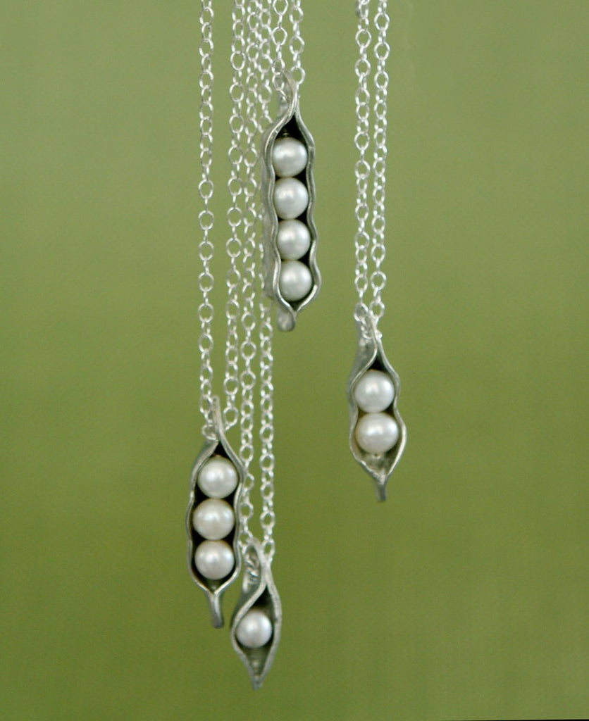 Pearl Peapod Necklace for Mom, USA