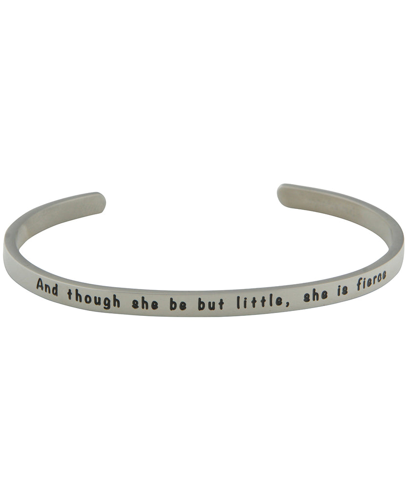 She is Fierce, Women's Empowerment Cuff