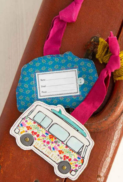 Accessories Enjoy the Ride Van Luggage Tag