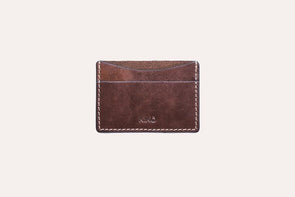 Accessories Minimalist Card Case Brown