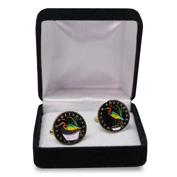 Accessories Painted Coin Cufflinks
