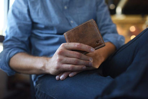 Accessories X Stitch Bifold Wallet