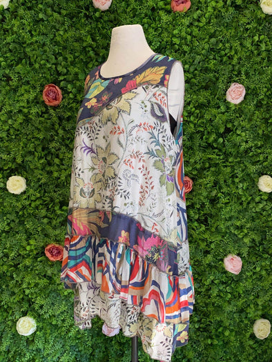 Apparel Patchwork Dress / Tunic