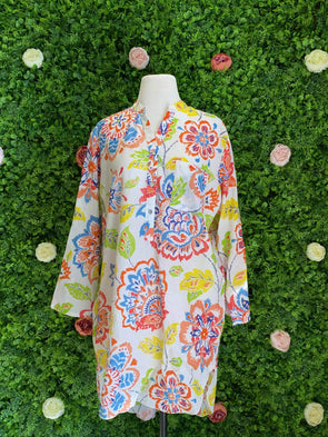 Apparel Seychelles Floral Tunic