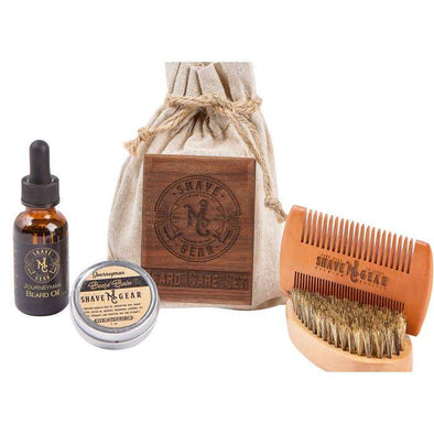 Bath and Body Journeyman Beard Care Kit