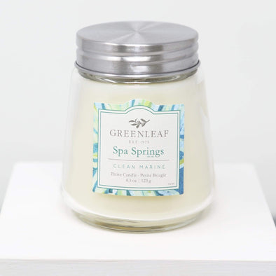Candles and Home Fragrance Spa Springs Candle - Petite Jar