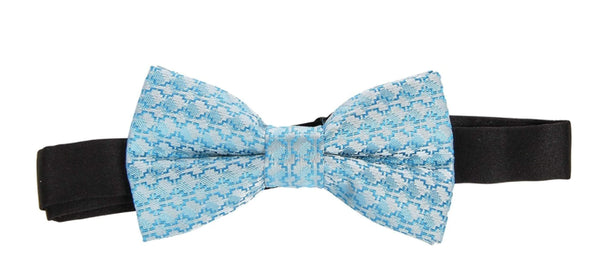 Children Turquoise Bow Tie and Suspender Set