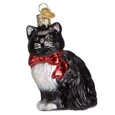 Home Tuxedo Cat Ornament