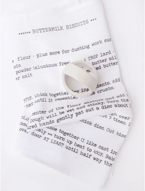 Kitchen Buttermilk Biscuit Tea Towel