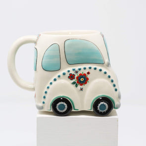 Kitchen Car Shaped Folk Mug