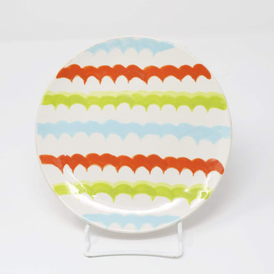 Kitchen Colorful Wave Appetizer Plate
