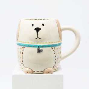 Kitchen Dog Shaped Folk  Mug