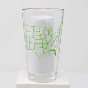 Kitchen Florida Pint Glass