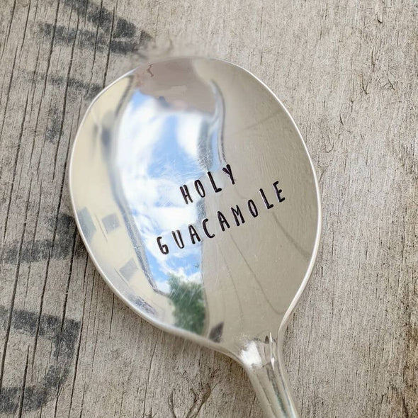 Kitchen Holy Guacamole Serving Spoon