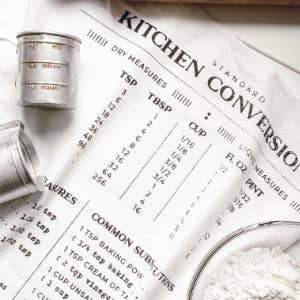 Kitchen Kitchen Conversions Tea Towel
