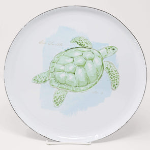 Kitchen Sea Turtle Plate - Enamel