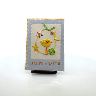 Stationery Felt Chick and Egg Card