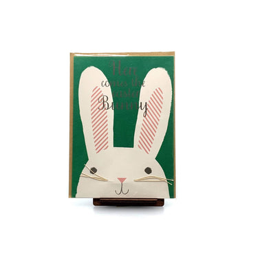 Stationery Here Comes the Easter Bunny Card