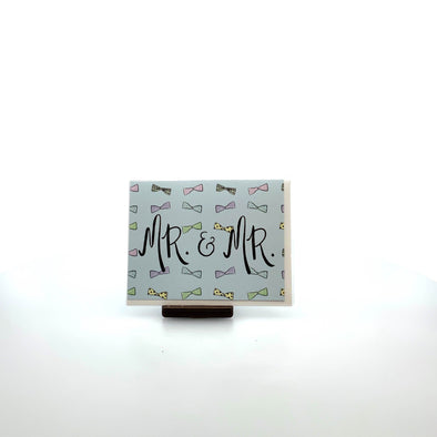 Stationery Mr. and Mr. Wedding Card