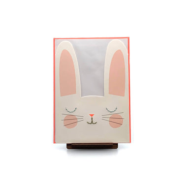 Stationery Stitched Bunny Card