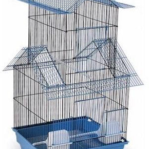 Bejing Bird Cage - Blue