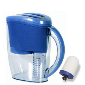 Propur Water Filter Pitcher with 1 ProOne-G 2.0 mini filter element + Removable Fruit Infuser